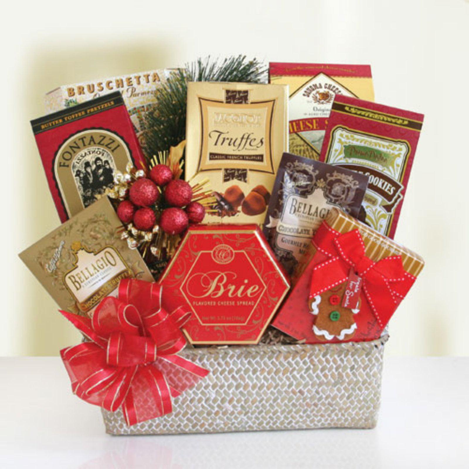 Epicurean Holiday Elegance Gift Basket