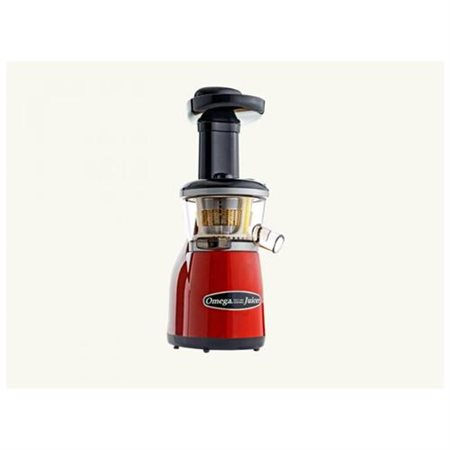 Omega VRT350 Heavy Duty Dual-Stage Juicer Red