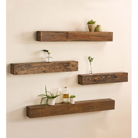 Rustic Wooden Shelf / Wood Floating Shelves