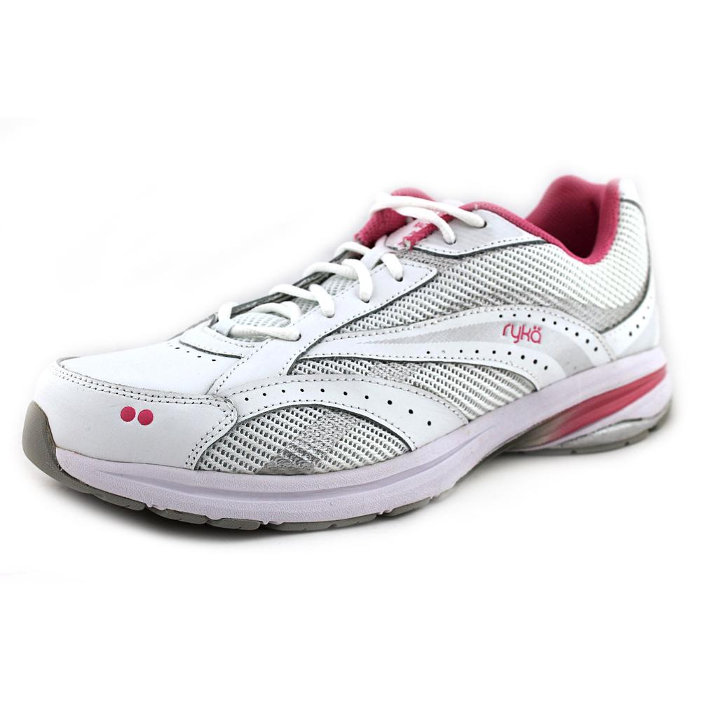 Ryka Radiant Plus   Round Toe Leather  Walking Shoe