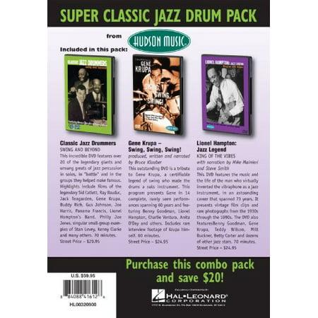 Super Classic Jazz Drum Pack (DVD)