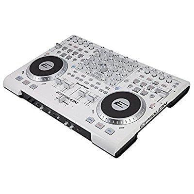epsilon quadmixwhite 4 deck usb professional midi dj controller