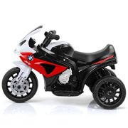 3 Wheels Bicycle 6V Electric Kids Ride On Motorcycle BMW Licensed Car w/ Music&Light