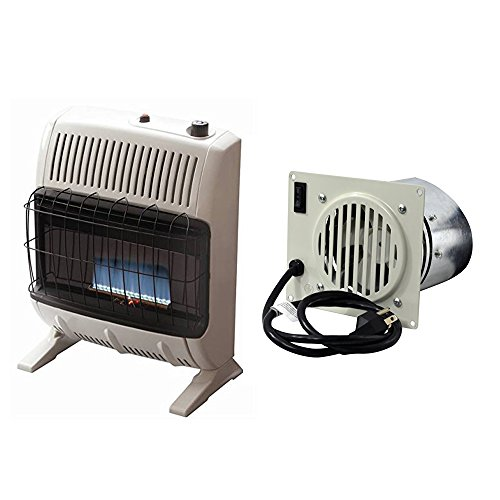 Mr. Heater  20,000 Vent Free Blue Flame Propane Heater w/ Vent Free Blower