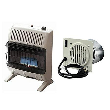 Mr. Heater  20,000 Vent Free Blue Flame Propane Heater w/ Vent Free Blower