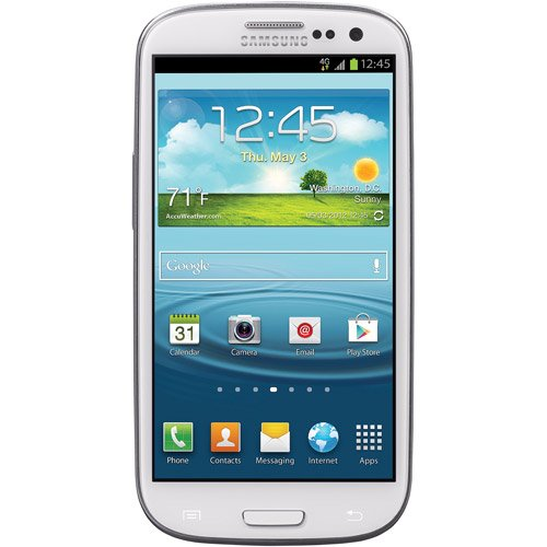 Refurbished Samsung STSAS968CWTPWP Galaxy S3 16GB White Prepaid Smartphone Straight Talk