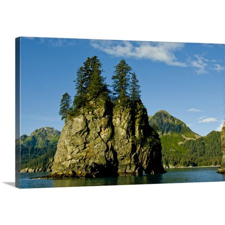 Great Big Canvas Jerry Ginsberg Premium Thick Wrap Canvas Entitled Pacific Northwest  Alaska  Kenai Fjords National Park  Fantastic Spire