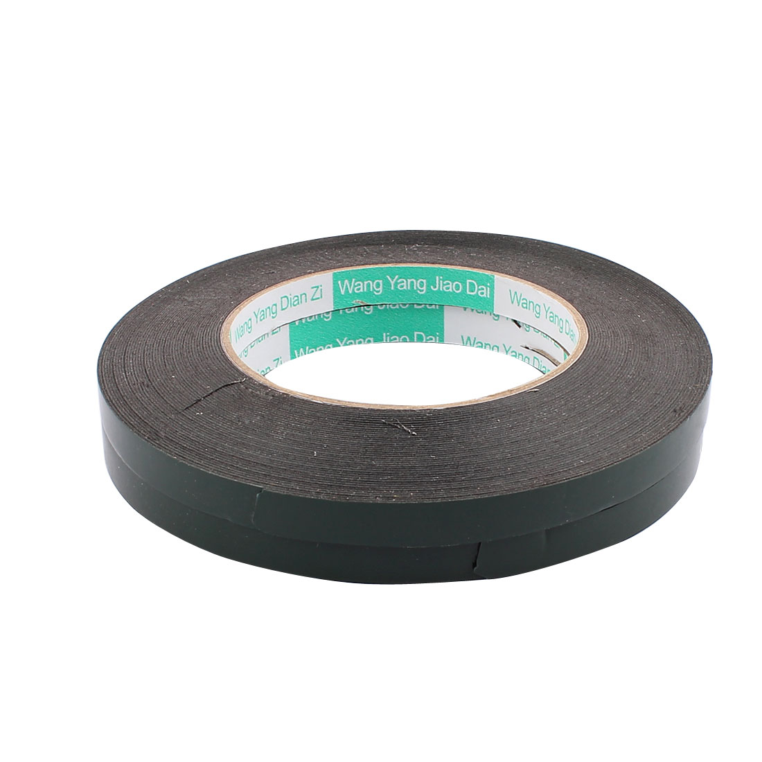 2 Pcs 1CM Width 15M Length 0.5MM Thick Dual Sided Sealing Shockproof Sponge Tape