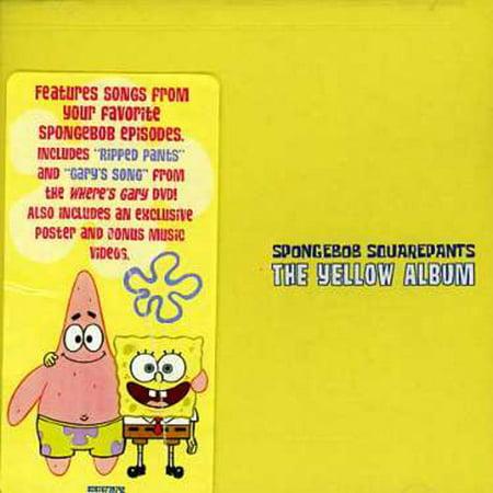 SpongeBob SquarePants: The Yellow Album (CD)](Spongebob Halloween Music)