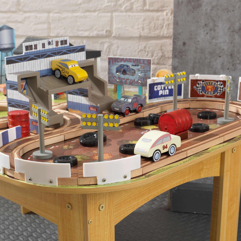 Disney® Pixar Cars 3 Thomasville Track Set & Table By KidKraft with ...