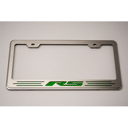 American car craft camaro license plate frame with rs for American frame coupon