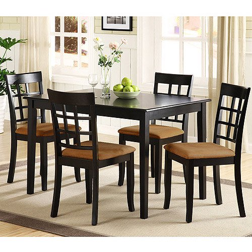 Lexington Dining Table, Black - Walmart.com