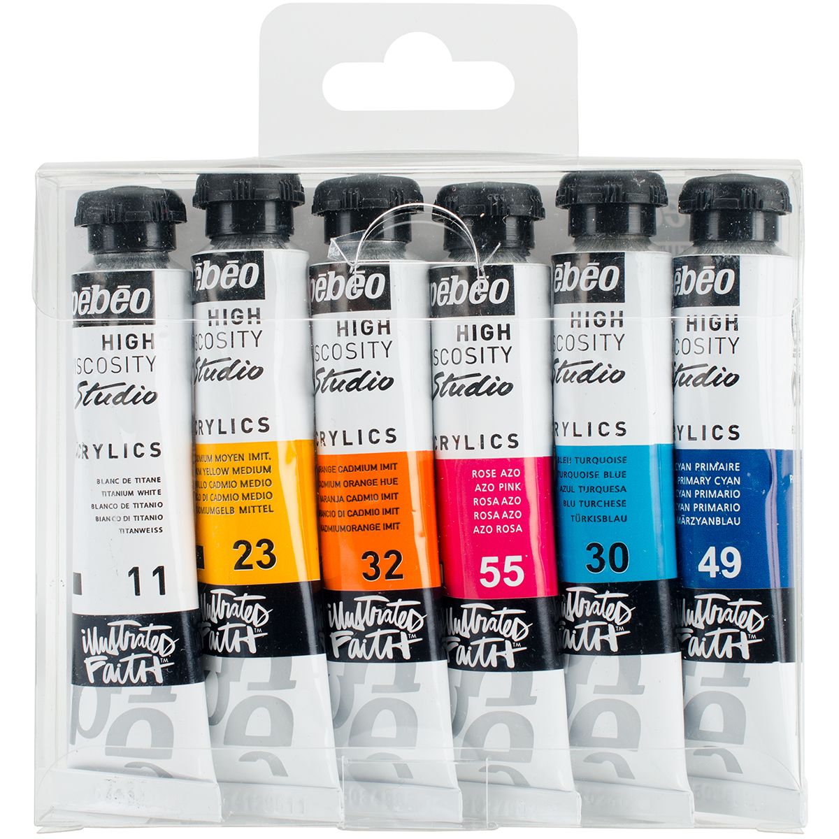 Illustrated Faith Basics Paint Set-Shanna's Favorites