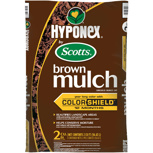 Hyponex by Scotts Brown Mulch, 2 cu ft
