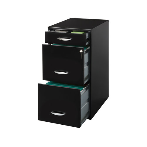 Beautiful Space Solutions 3 Drawer File Cabinet