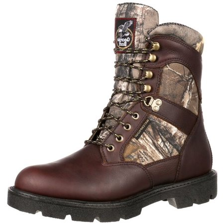 a4cdd59ac62 Georgia Boot Work Mens Homeland WP Insulated Hiker Brown GB00118