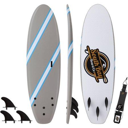 6' Guppy Beginner Soft Top Surfboard