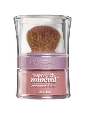 L'Oreal Paris True Match Mineral Blush, Pinched Pink, 0.15 oz.