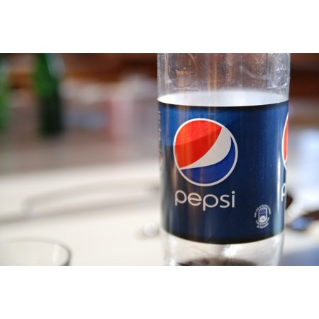 Canvas Print Plastic Drink Bottle Pepsi Recycling Stretched Canvas 10 x 14