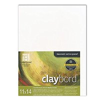 Ampersand Claybord 11 in. x 14 in. each