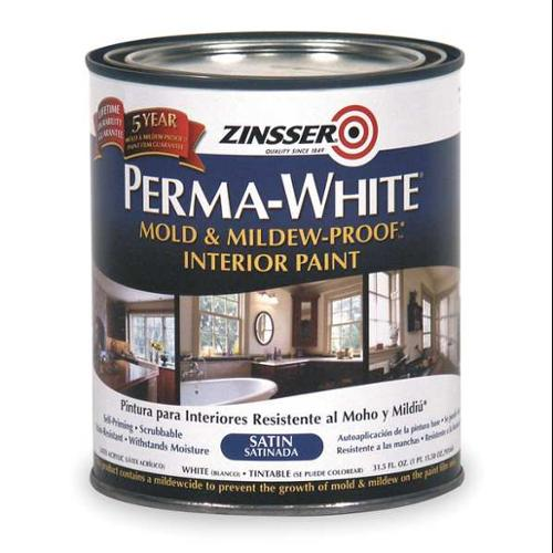 Zinsser Interior Paint, White 2704