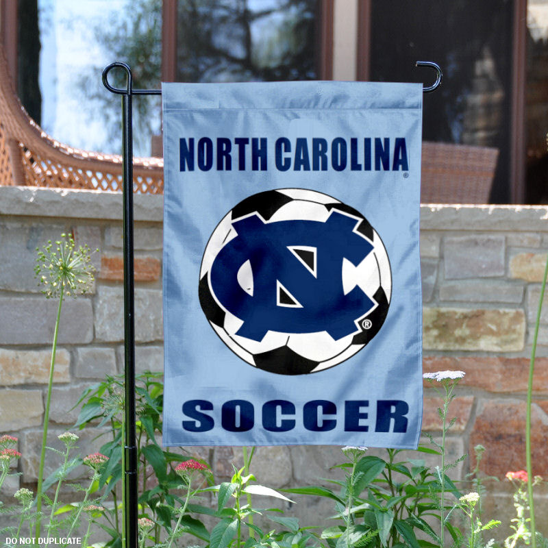 "North Carolina Tar Heels 13"" x 18"" College Garden Flag"