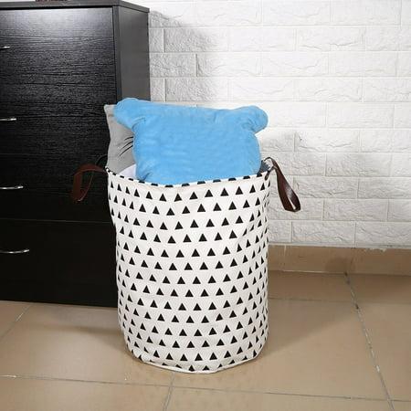 Storage Bag Hilitand Canvas Handbag Laundry Basket Storage