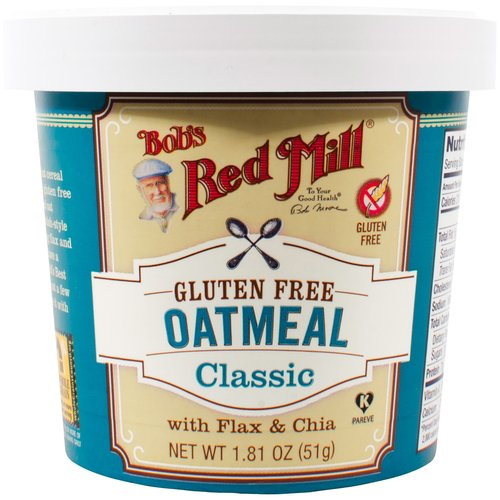 Bob's Red Mill Gluten Free Oatmeal Classic with Flax & Chia, 1.81 OZ