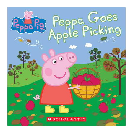 Peppa Goes Apple Picking (Peppa Pig) (Paperback)