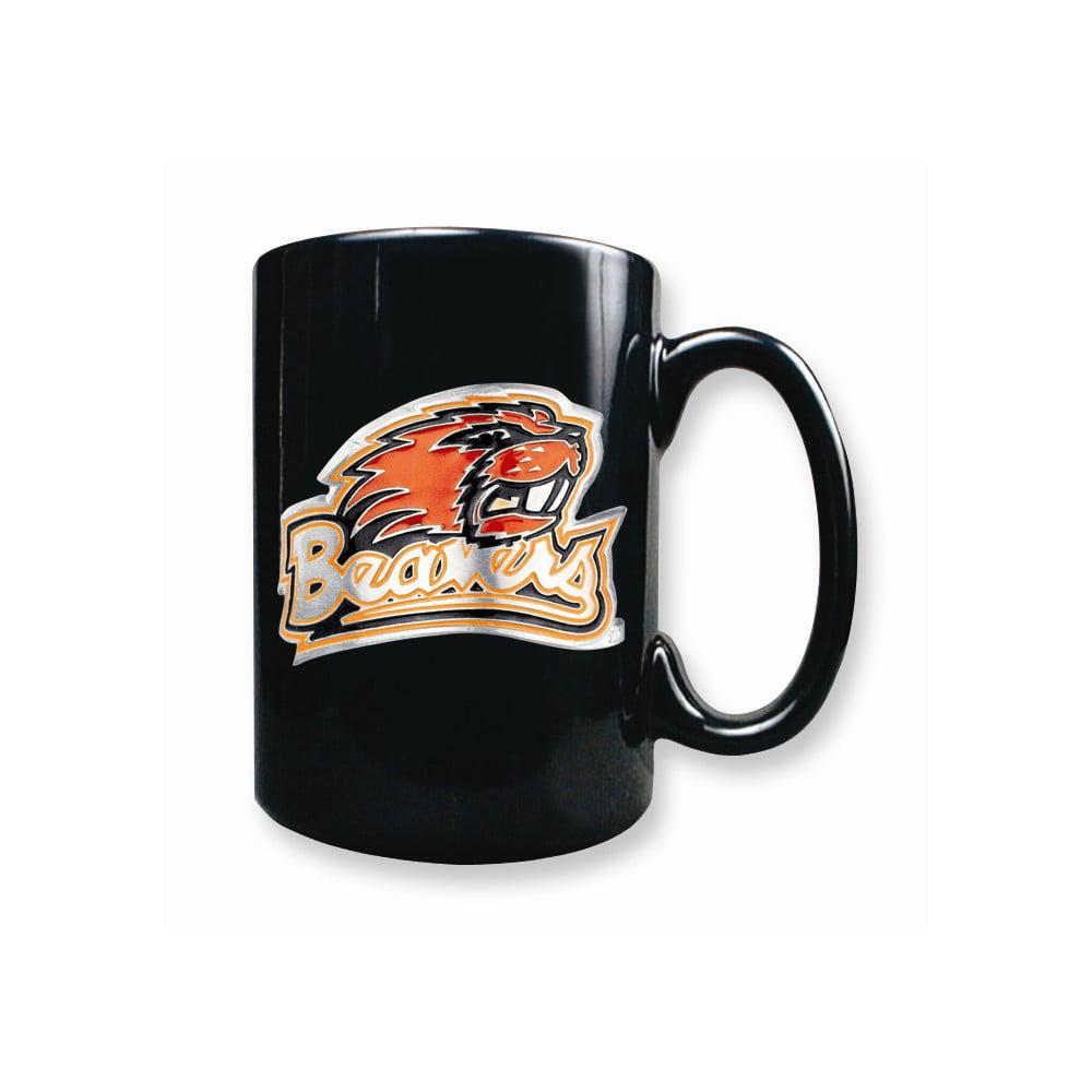 Oregon State 15oz Black Ceramic Mug