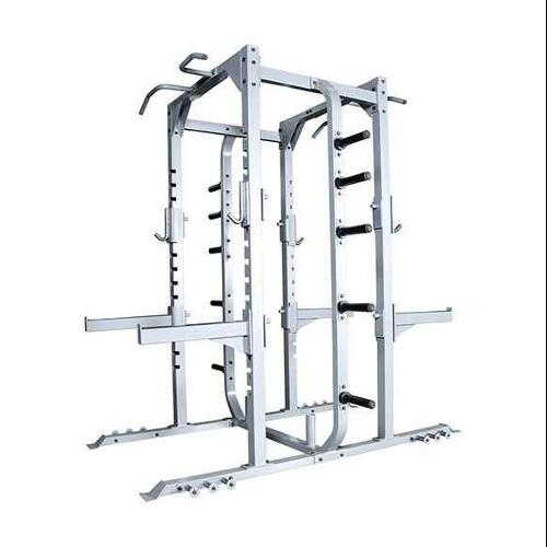 J-Hook Adjustable Bar Champion Double Sided Half Rack