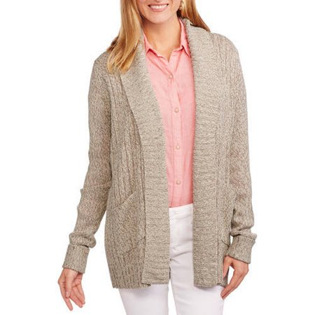 Women's Two Pocket Cardigan Sweater