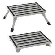 Stromberg Carlson Aluminum Platform Folding RV Step