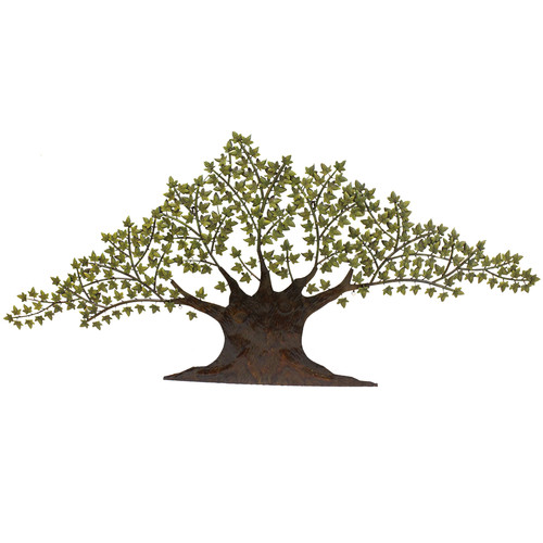 EC World Imports Urban Tree of Harmony Large 92'' Metal Art Wall Decor by ecWorld