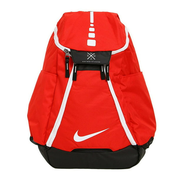Hoops Elite Max Air Team 2.0 Basketball Backpack University RedBlackWhite