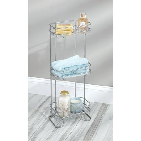 iDesign Neo Wire 3-Shelf Rectangular Shower Tower, (Neo Bath Accessories)