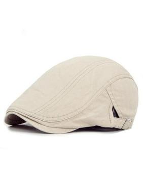 Mens Peaked Cap Cabbie Newsboy Gatsby Flat Ivy Painter Baker Beret Flat Sun Hat