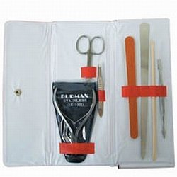 DL Professional Manicure Kit with Cuticle Scissor (PPK10SL)