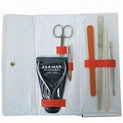 DL Professional Manicure Kit with Cuticle Scissor (PPK10SL)