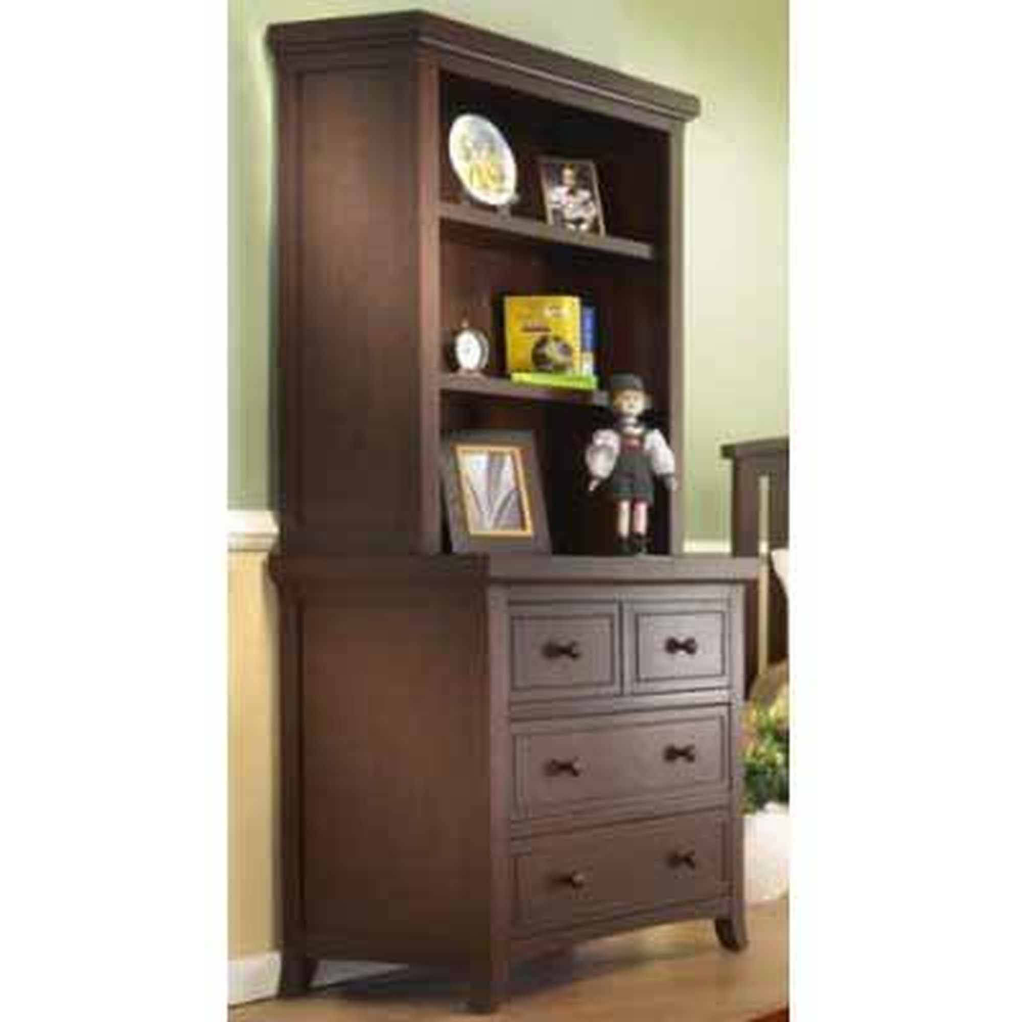 Sorelle Alex 3-Drawer Chest Hutch