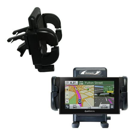 Gomadic Air Vent Clip Based Cradle Holder Car / Auto Mount suitable for the Garmin nuvi 2539 / 2559 LMT - Lifetime Warranty