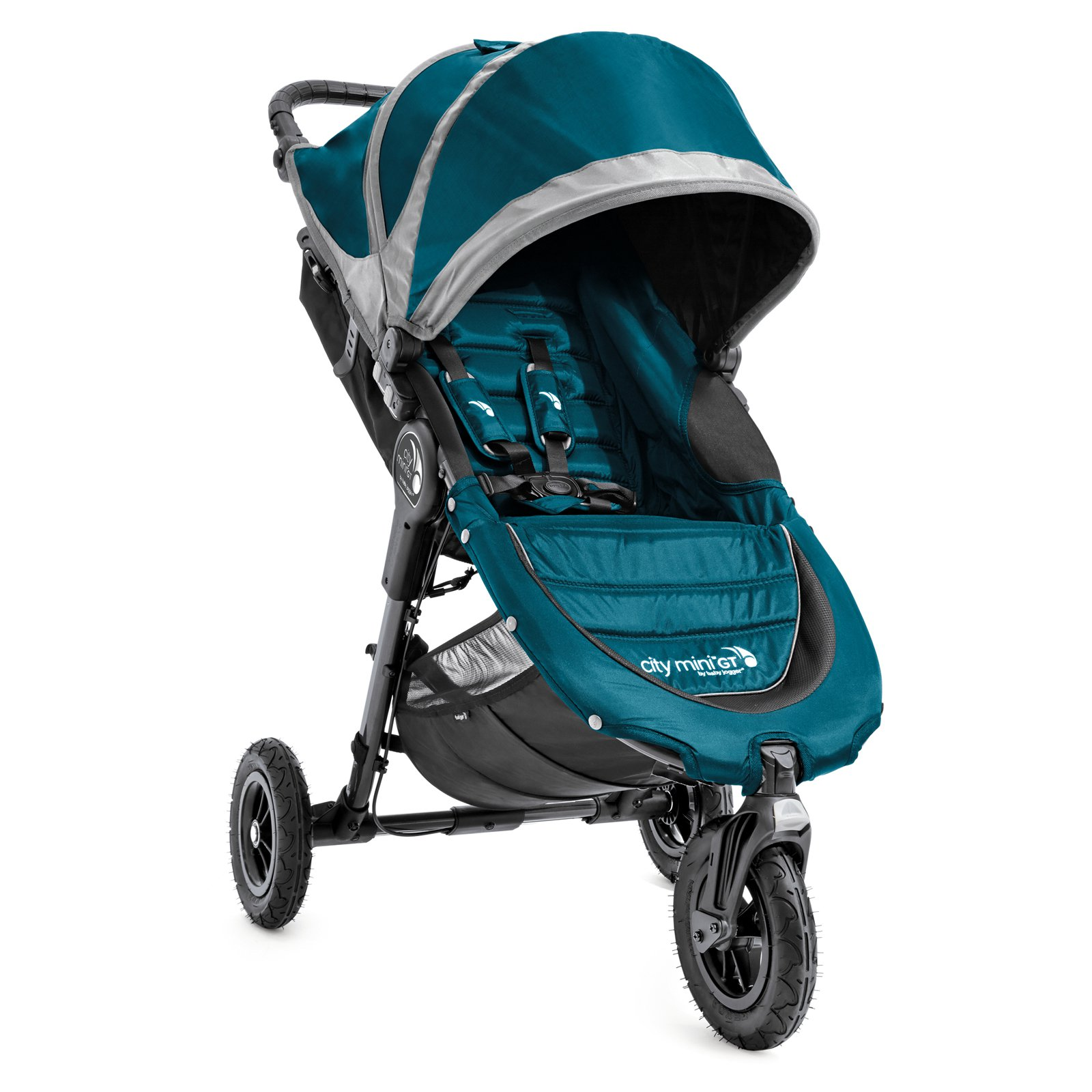 Baby Jogger 2016 City Mini GT Single Stroller- Teal/Gray