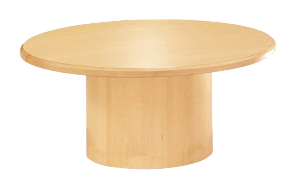 Shuffle Round Conference Table Autumn Cherry In Dia - 36 inch round conference table