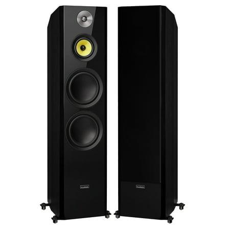 Fluance Signature Series Hi-Fi Three-way Floorstanding Tower Speakers with Dual 8