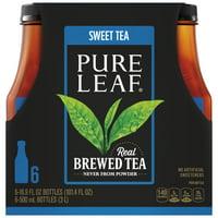 Pure Leaf Sweet Real Brewed Tea, 16.9 fl oz, 6 count