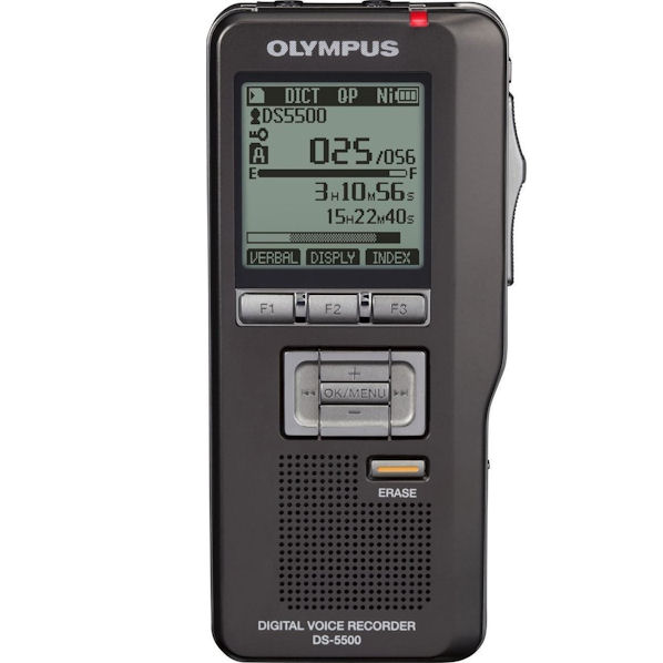 Olympus DS-5500 Professional Digital Voice Recorder by Olympus