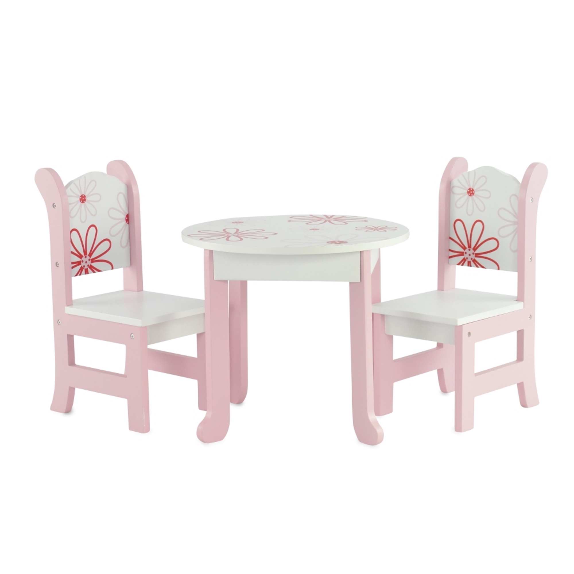 18 Inch Doll Furniture Fits 18 American Girl Dolls Floral Table