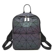 HotOne Luminous Geometric Purse and Handbag Holographic Purse Reflective Purse Fashion Backpacks Backpack 1571