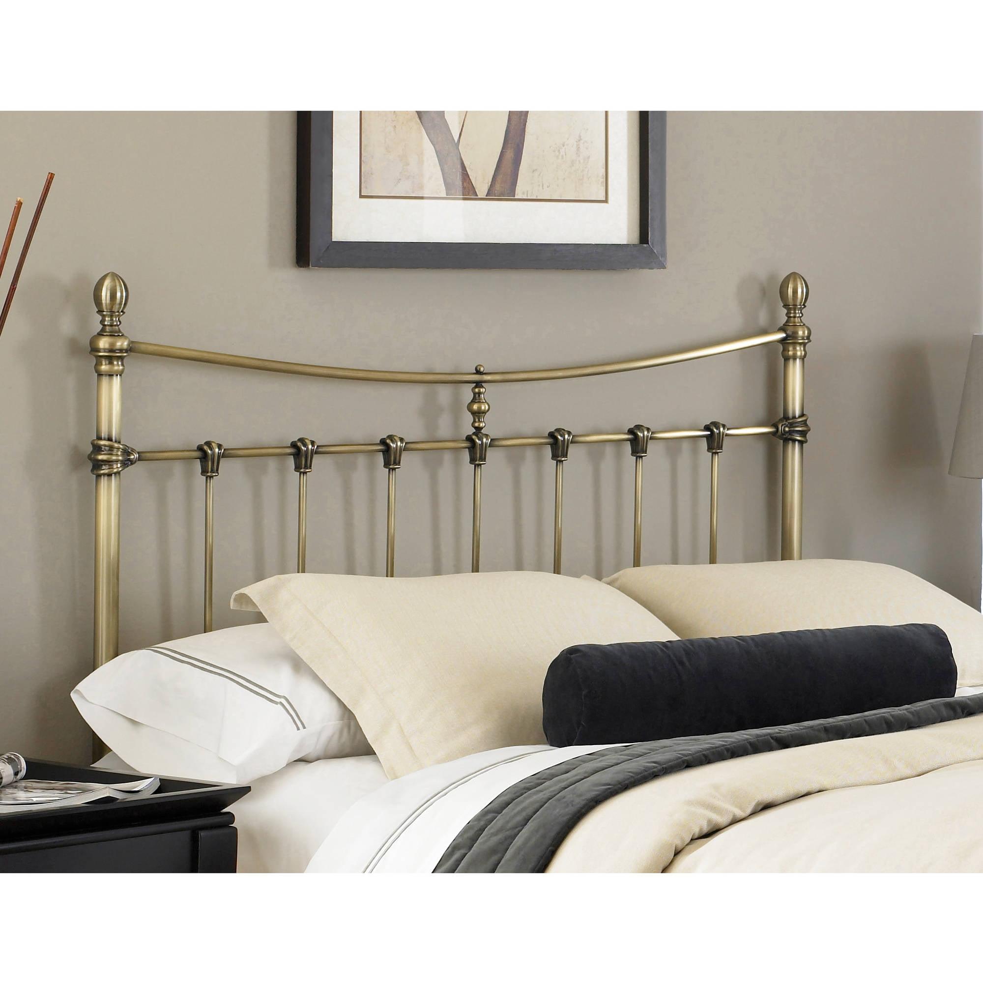 Fashion Bed Group by Leggett & Platt Leighton Antique Brass Headboard, Multiple Sizes