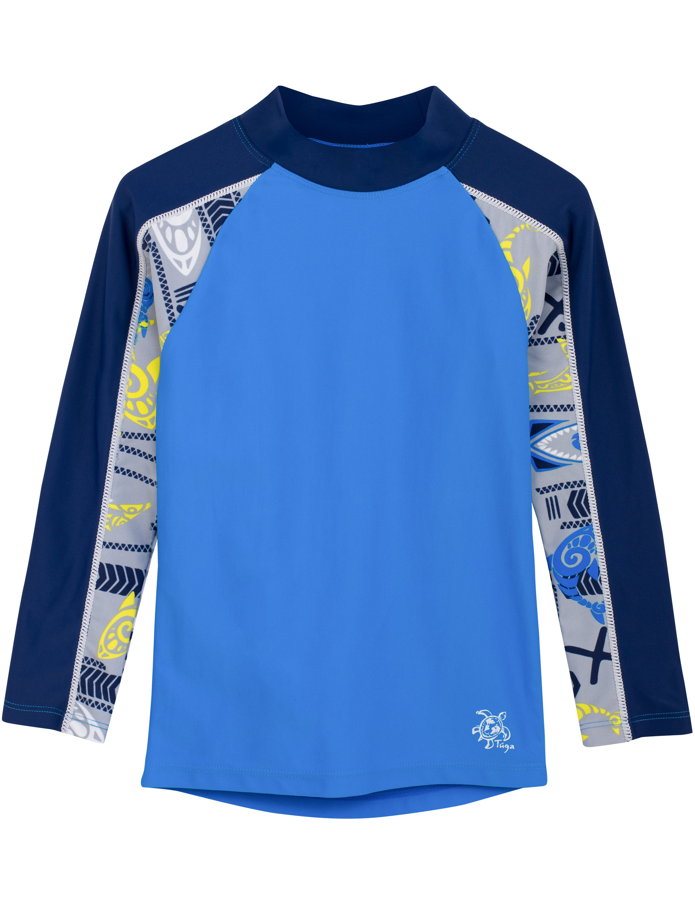 Tuga Kids Custom//Personalized Long Sleeve Rash Guard UPF 50 Sun Protection